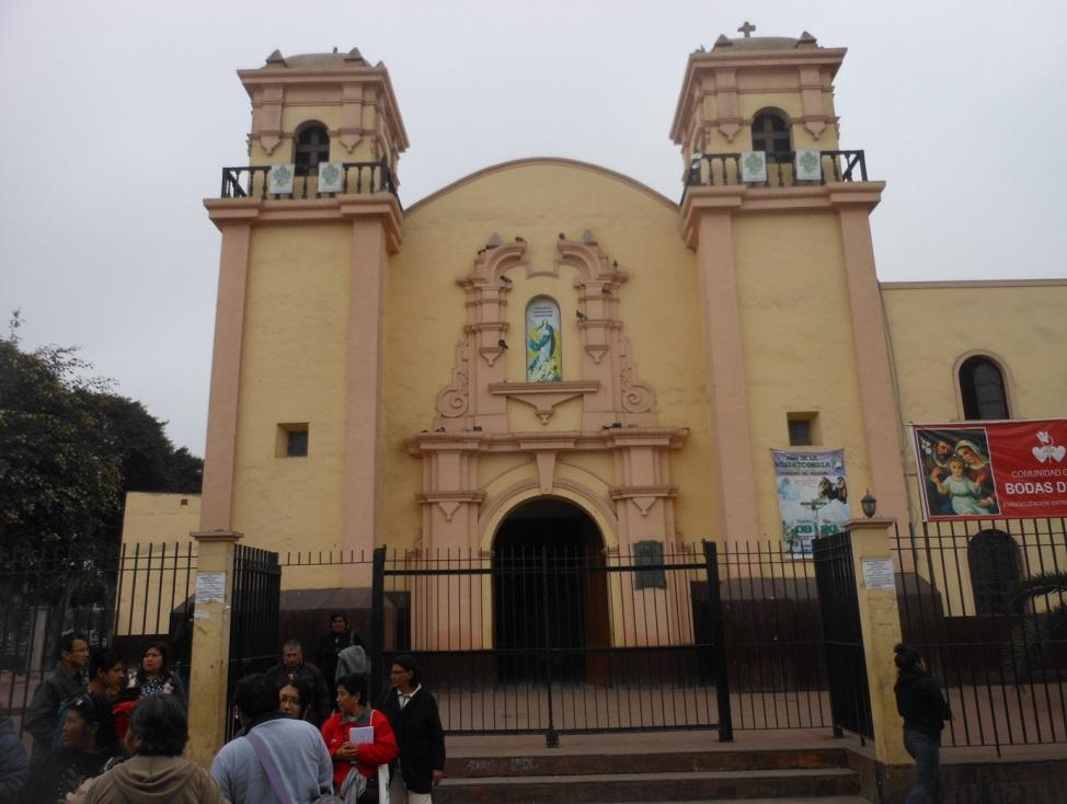 chiesa antica di Chancay