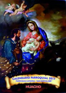calendario-2017 della Parrocchia di Huacho